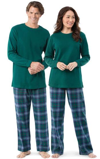 Heritage Plaid His & Hers Matching Pajamas