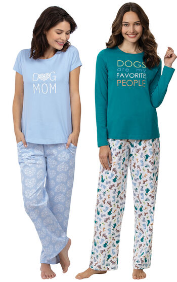 """Dogs Are My Favorite"" PJs & Dog Mom PJs"