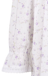 Model wearing Martha Nightgown in Lilac Rose for Women image number 6
