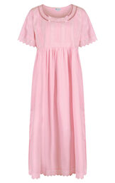 Model wearing Helena Nightgown in Pink for Women image number 2
