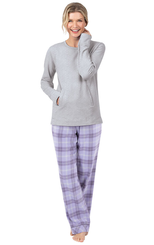 Addison Meadow Frosted Flannel Pajamas image number 0