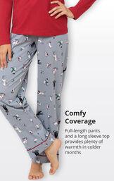 Happy Howlidays Pajamas image number 4