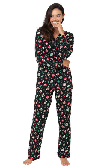 Ornament Boyfriend Pajamas