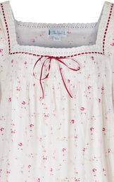 Model wearing Martha Nightgown in Vintage Rose for Women image number 4