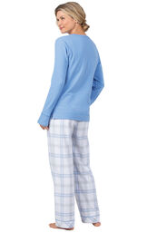 Addison Meadow Frosted Flannel Pajamas image number 1