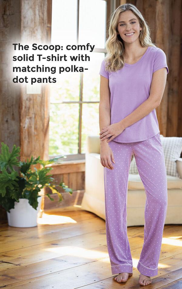 Classic Polka-Dot 3-Piece Pajama Set image number 2