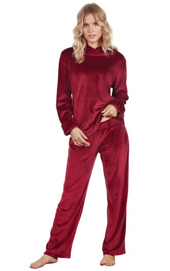 Tempting Touch PJs - Garnet