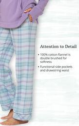 Addison Meadow Frosted Flannel Pajamas image number 3
