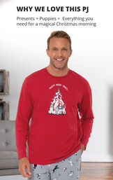 Happy Howlidays Men's Pajamas image number 2
