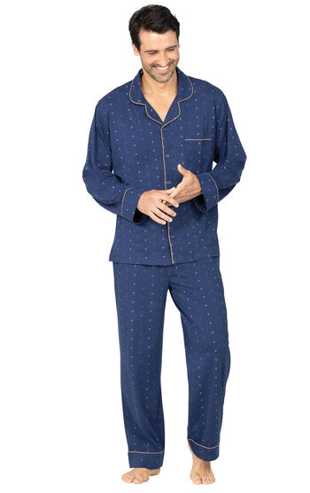 Geo-Printed Men's Pajamas