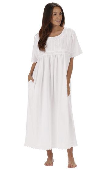 Helena Nightgown - White