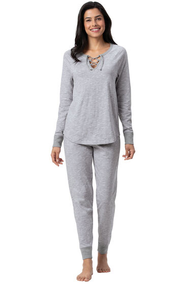 Addison Meadow|PajamaGram Jogger PJs - Gray