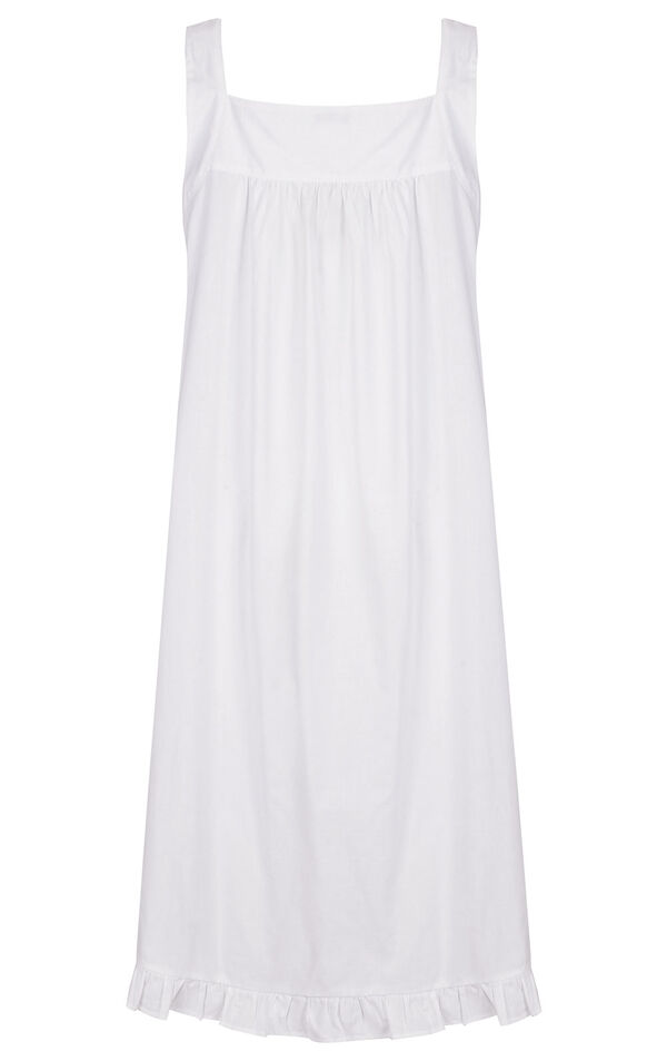Model wearing Nancy Nightgown in White for Women image number 5