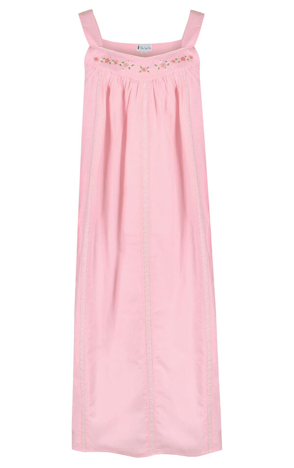 Model wearing Meghan Nightgown in Pink for Women image number 2