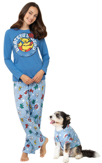 Grateful Dead Pet & Owner Matching Pajamas