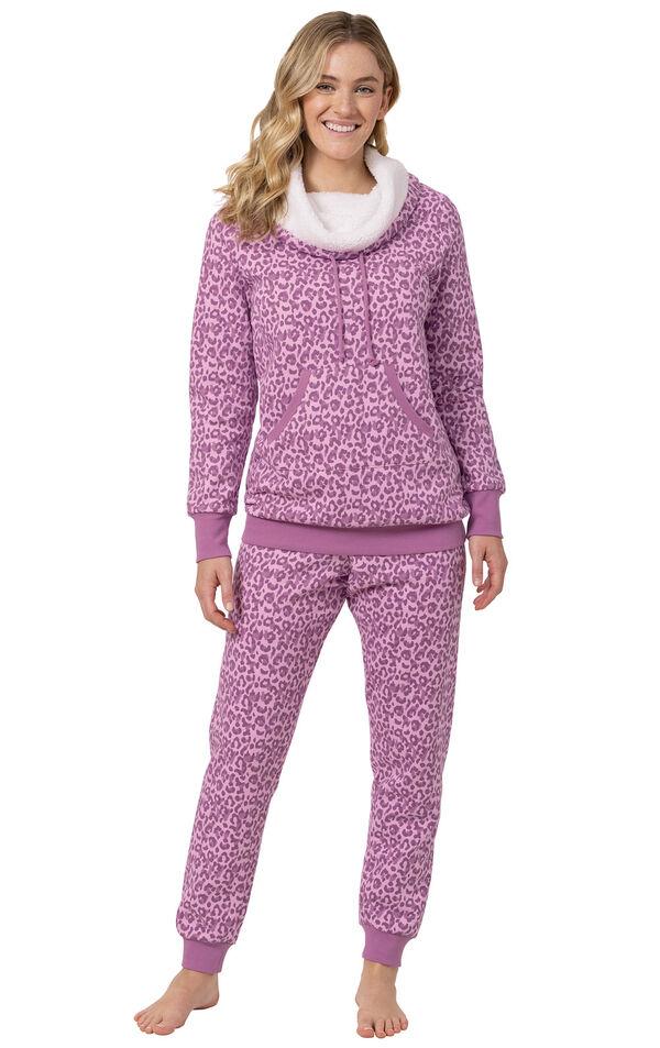Shearling Rollneck Pajamas image number 3