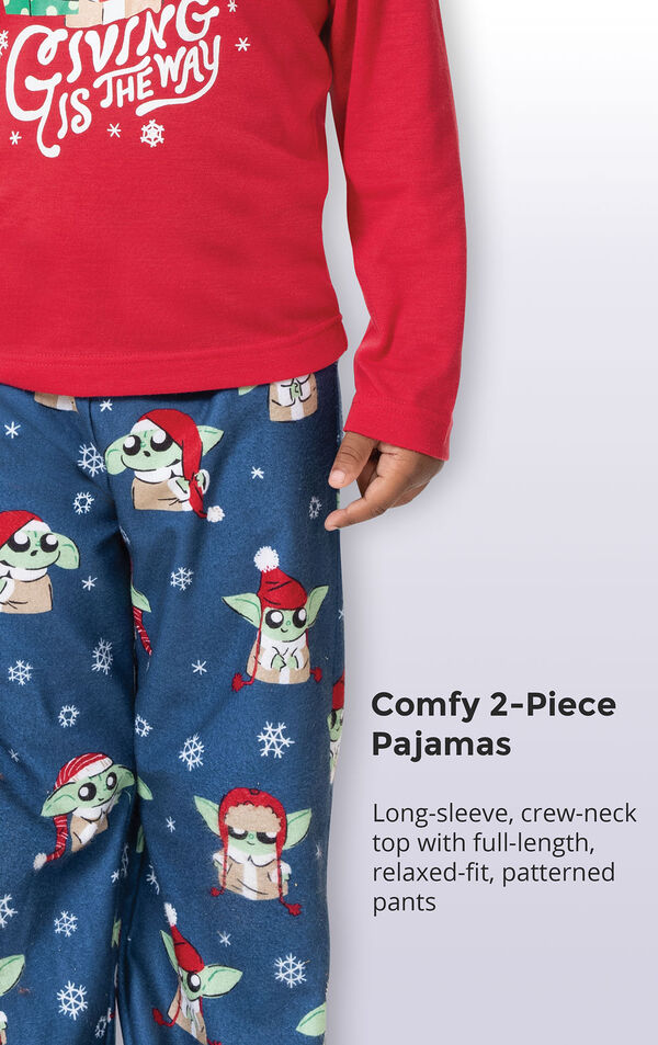 Baby Yoda Boys Pajamas by Munki Munki® image number 4
