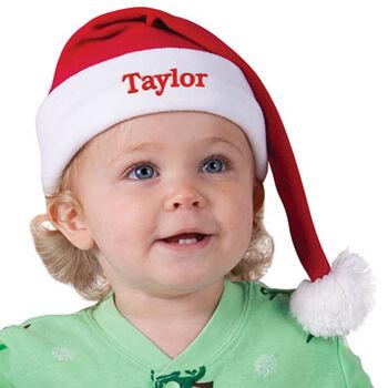 Santa Snuggle Hat for Infants