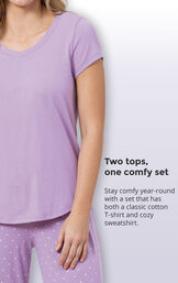 Classic Polka-Dot 3-Piece Pajama Set image number 4