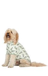 Model wearing Green Pine Tree PJ - Pet