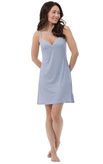 Naturally Nude Chemise - Blue