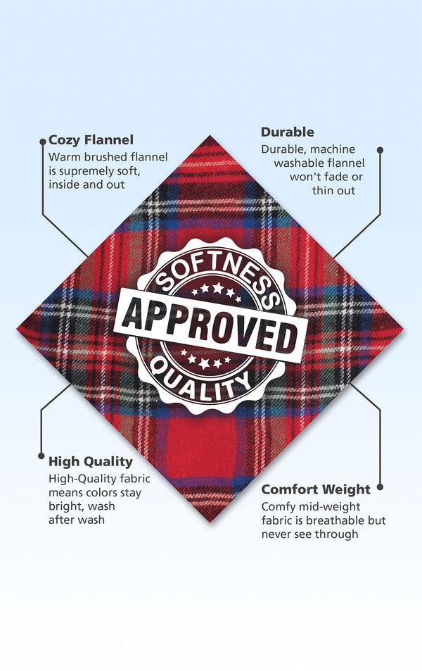 Brand new Soft Red Tartan Pattern PJs Age 5-6
