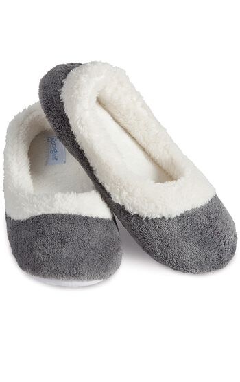 World's Softest Slippers - Gray