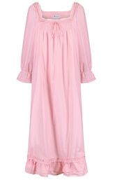 Model wearing Martha Nightgown in Pink for Women image number 2
