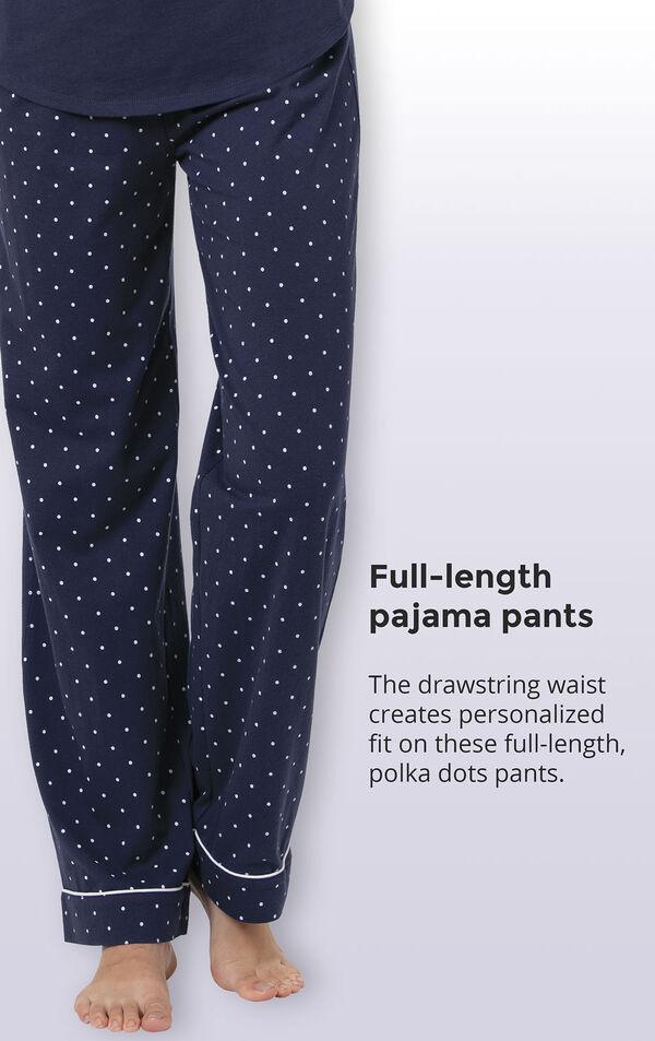 Classic Polka-Dot 3-Piece Pajama Set image number 5