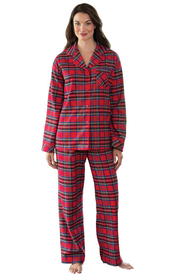 Plaid Boyfriend Flannel Pajamas