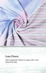 Pink Stripe Argyle Fleece Pajama Pant 2-Pack for Women image number 2