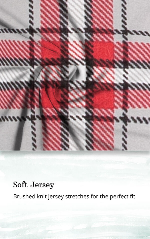 Soft Jersey - Brushed knit jersey stretches for the perfect fit image number 5