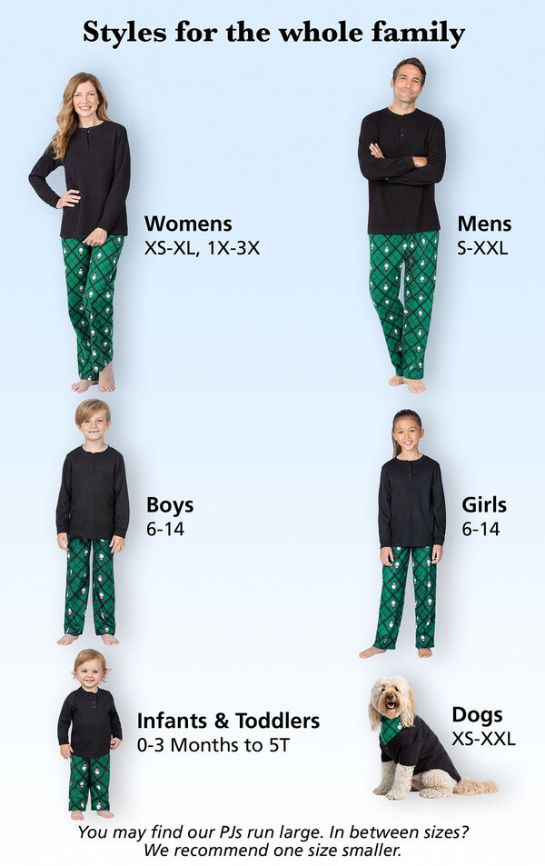 Fun and Festive for the Whole Family! Womens: Sizes XS-XL, 1X-3X (Dress Sizes 2-26); Mens Sizes S-XXL, Boys and Girls Sizes 6-14, Dogs Sizes XS-XXL, Infants and Toddlers Sizes 0-3months - 5T image number 4