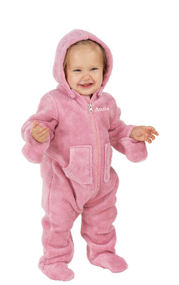 Hoodie-Footie™ for Infants - Pink