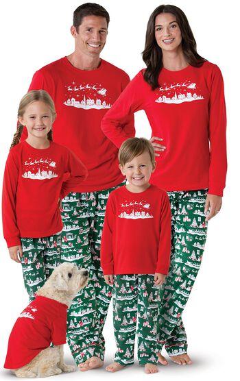 The Night Before Christmas Matching Family Pajamas