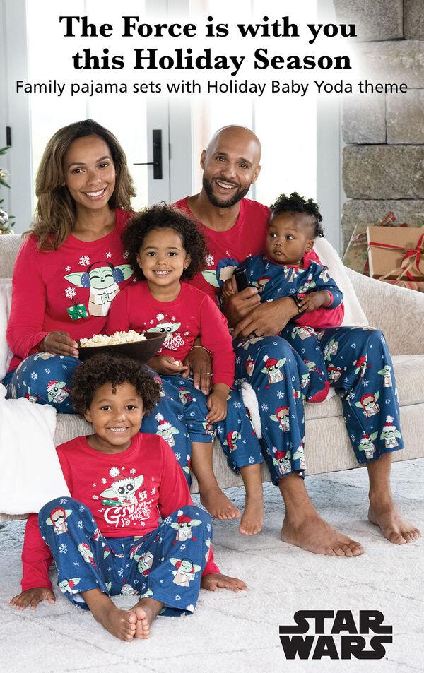 Baby Yoda Matching Family Pajamas by Munki Munki® image number 2