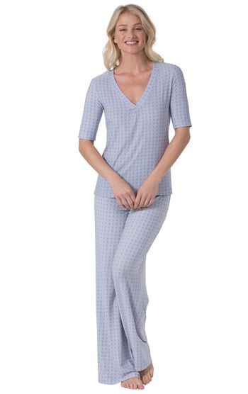Naturally Nude Pajamas - Blue