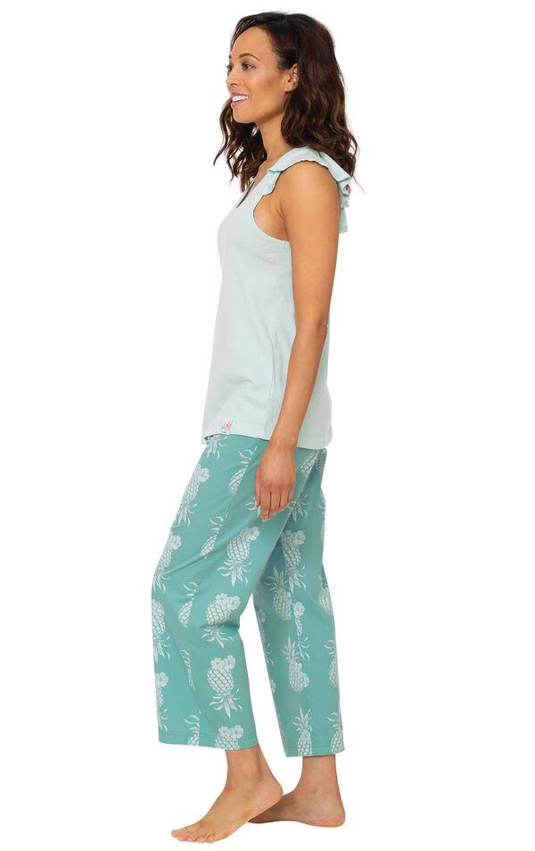 Margaritaville® Easy Island Capris Pajamas image number 0