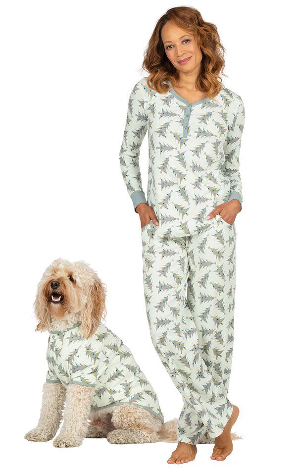 Balsam & Pine Matching Pet and Owner Pajamas image number 0