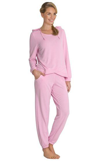 Addison Meadow PajamaGram Hoodie PJs - Pink