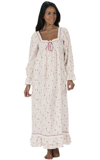 Martha Nightgown - Vintage Rose