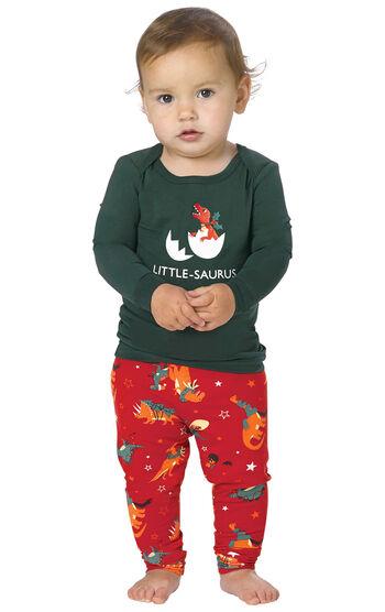 Santasaurus Infant Pajamas