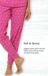 Addison Meadow|PajamaGram Whisper Knit Joggers image number 5