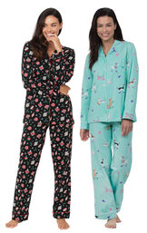 Ornament and Doggy Dreams Boyfriend PJs image number 0