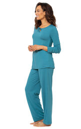 Addison Meadow Whisper Knit Pajamas image number 3