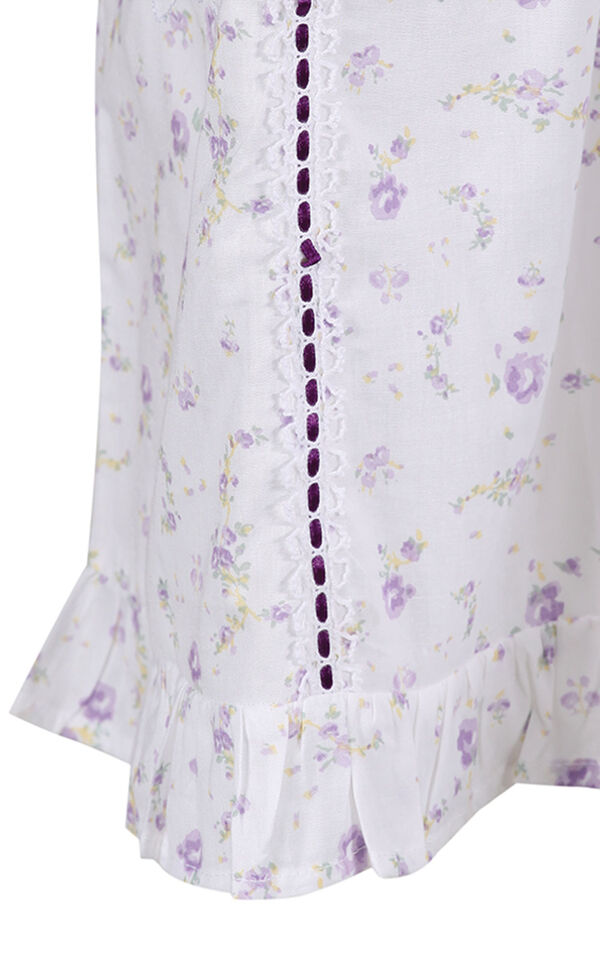 Model wearing Nancy Nightgown in Lilac Rose for Women image number 6