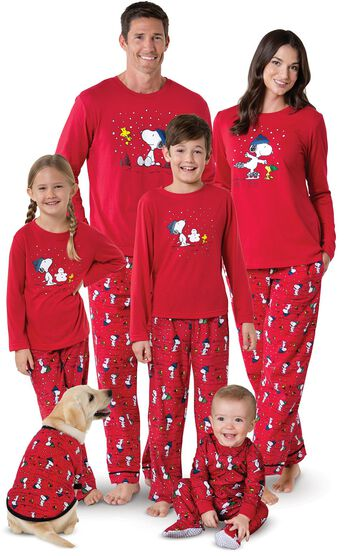 Snoopy & Woodstock Matching Family Pajamas