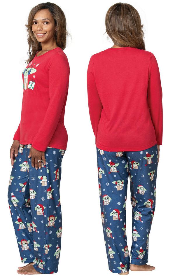 Baby Yoda Women's Pajamas image number 1