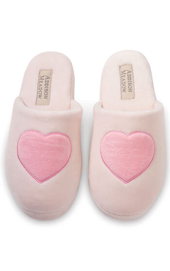 Heart Slippers - Pink