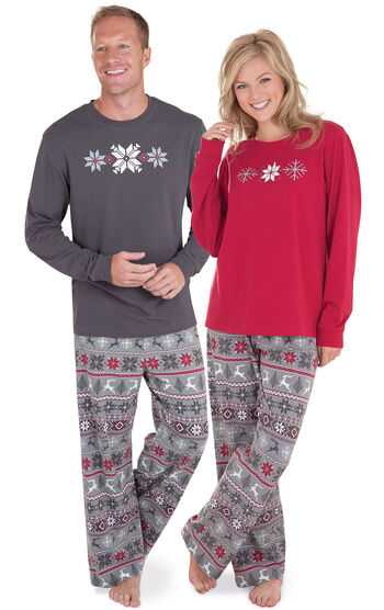 Nordic His & Hers Matching Pajamas